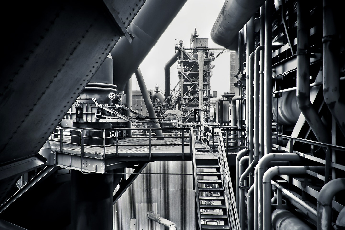 Photo of an industrial workplace