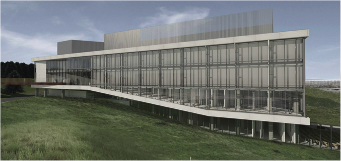 Photo of the exterior of the University of Lethbridge